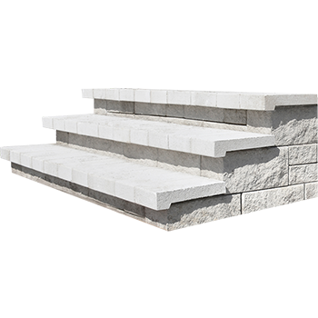 Concrete outdoor stairs